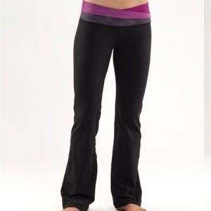 Lululemon Yoga Crossover Waistband 4 Tall